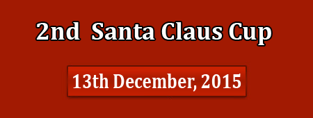 2nd Santa Claus Cup, 3-4th October, 2015 - details