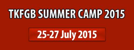 TKFGB Summer Camp 2015 - details